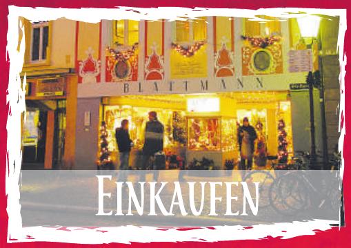 Weihnachtseinkauf in der Freiburger Altstadt Image 2