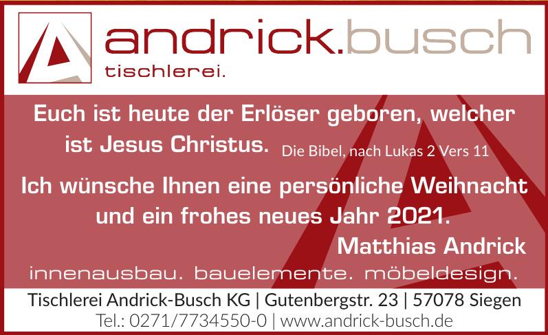 Tischlerei Andrick-Busch KG