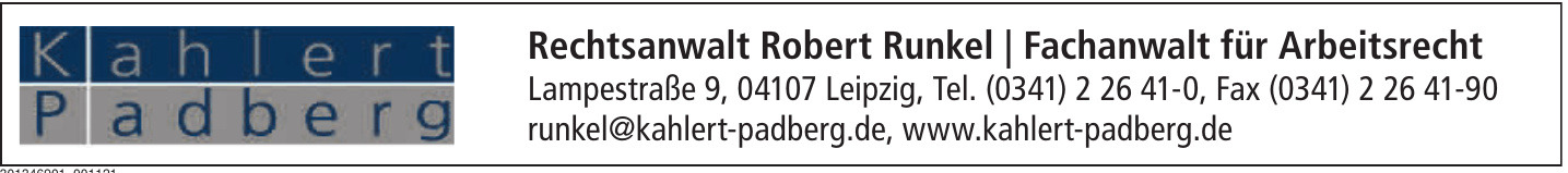 Rechtsanwalt Robert Runkel