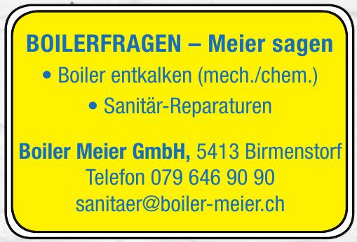 Boiler Meier GmbH
