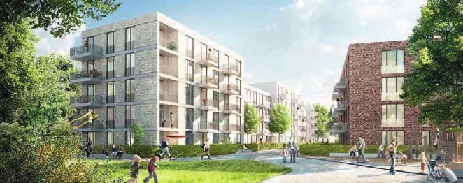 So sollen die SAGA-Häuser aussehenFoto: KBNK Architekten