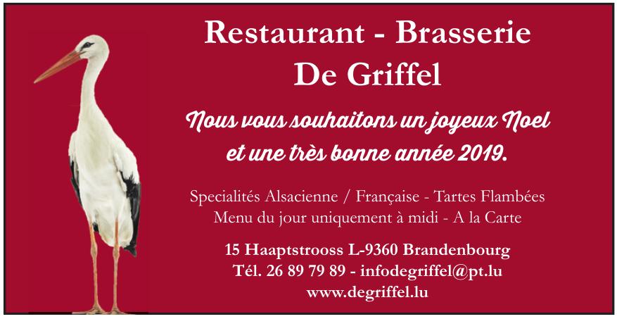 Restaurant - Brasserie De Griffel