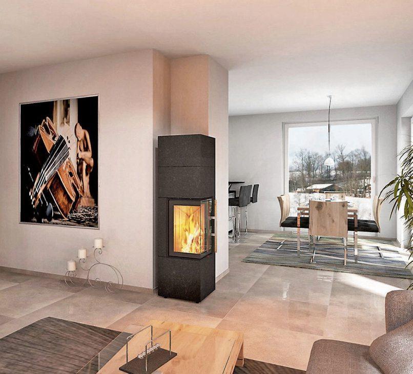 Flexibel, vielseitig und effizient: Ein Kaminofen kann platzsparend für schnelle Wärme sorgen. Bild: djd/AdK/www.kachelofenwelt.de/CB-tec