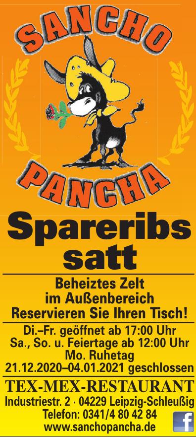 Tex-Mex-Restaurant Sancho Pancha