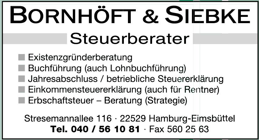 Bornhöft & Siebke Steuerberater