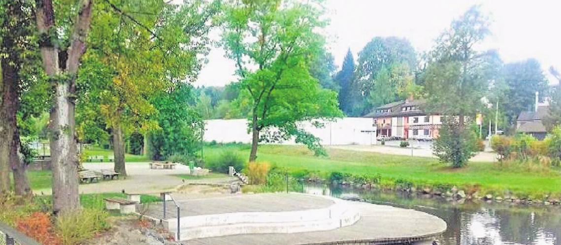 An diesem Ort, direkt am Wasser, lässt es sich prima verweilen. Fotos (3): Stadt Selbitz