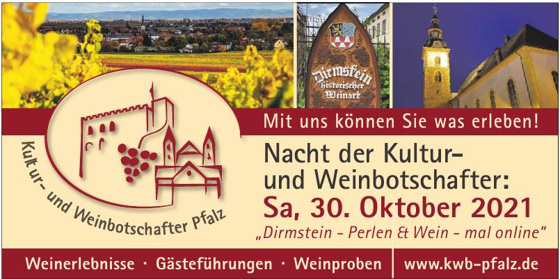 Kultur- & Weinbotschafter Pfalz