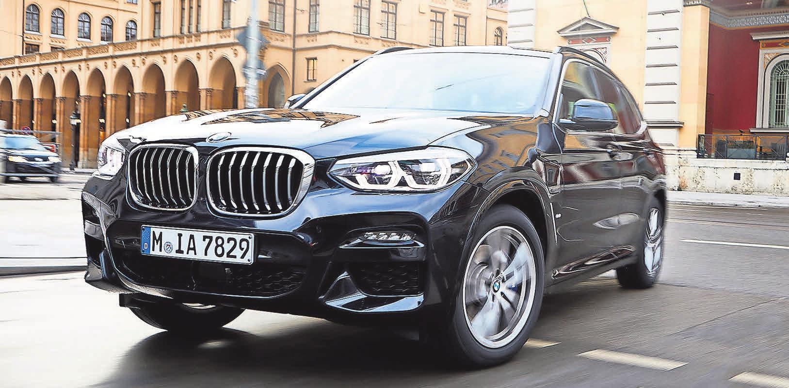 Der neue X3 xDrive30e von BMW Foto: WILFRIED WULFF