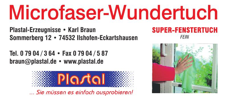 Plastal-Erzeugnisse, Karl Braun