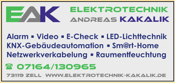 Elektrotechnik Andreas Kakalik GmbH