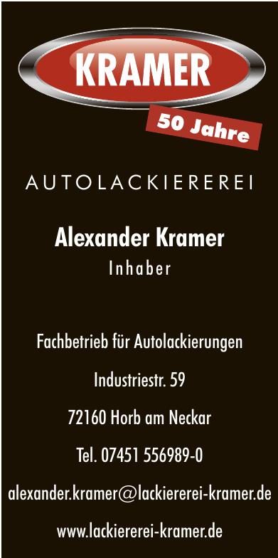 Autolackiererei Alexander Kramer