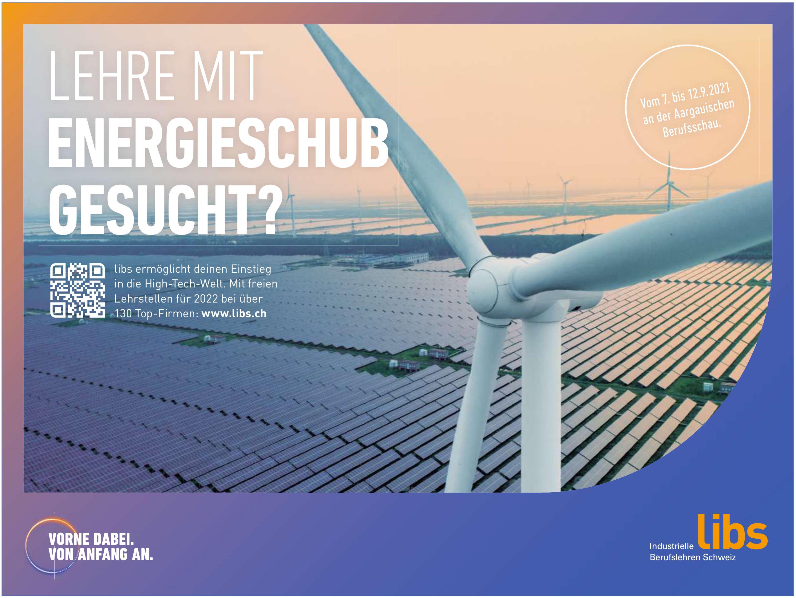 Libs Industrielle Berufsleben Schweiz