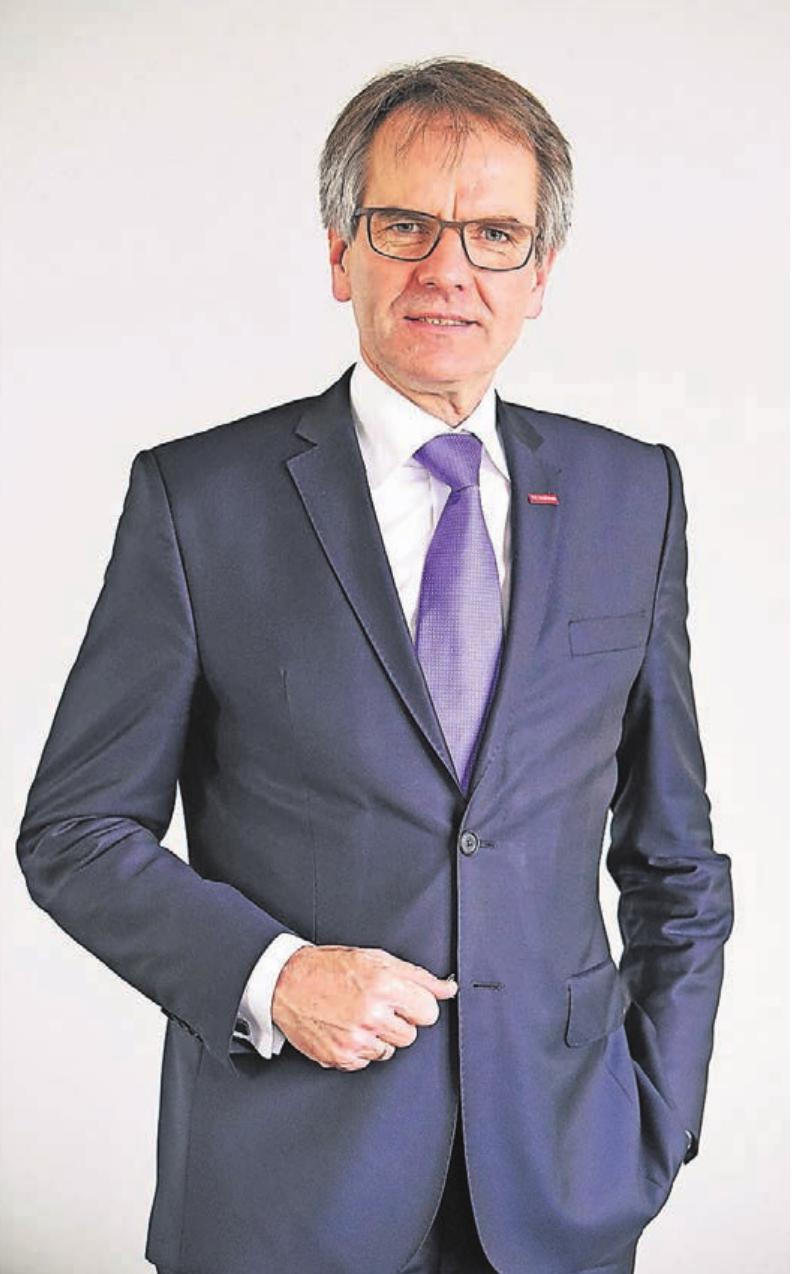 Der Präsident der Düsseldorfer Handwerkskammer, Andreas Ehlert.
