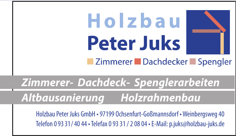 Holzbau Peter Juks GmbH