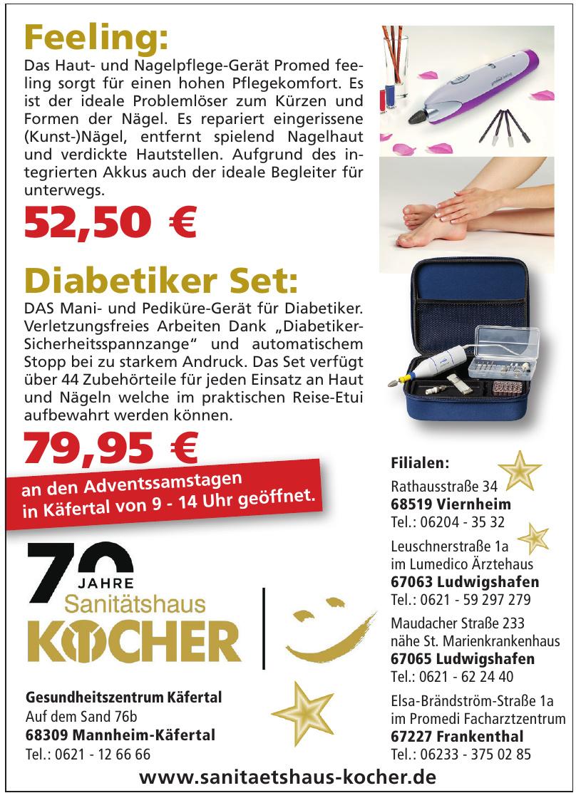 Sanitätshaus Kocher - Gesundheitszentrum Käfertal