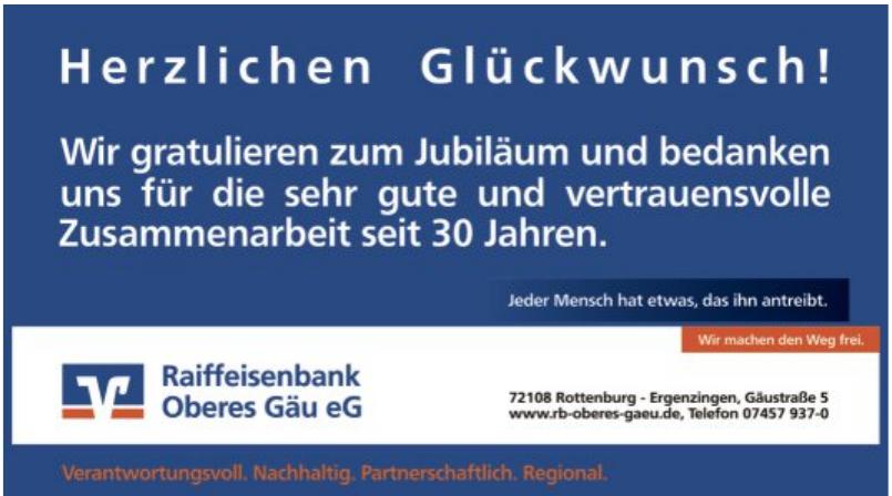Raiffeisenbank Oberes Gäu eG