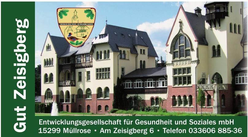 Gut Zeigberg - Entwicklungsgesellschaft für Gesundheit und Soziales mbH
