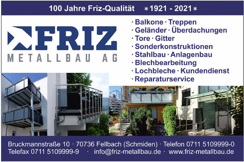 Friz Metallbau AG