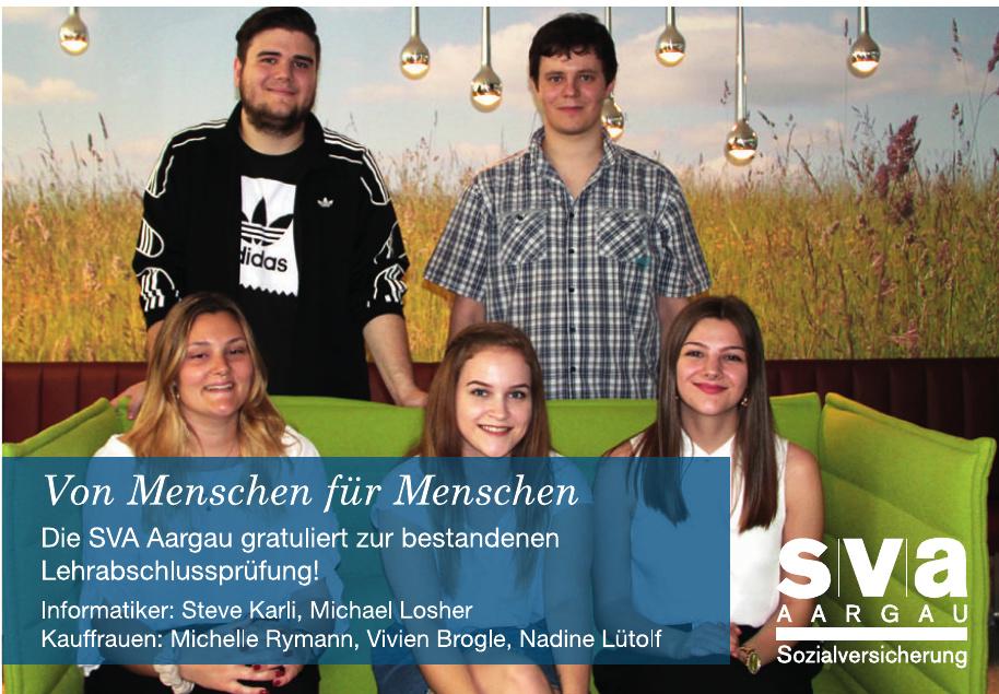 SVA Aargau Sozialversicherung