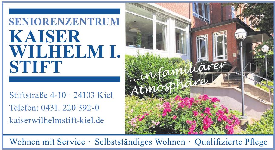 Seniorenzentrum Kaiser Wilhelm I. Stift