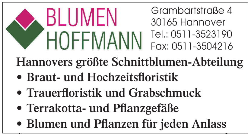 Blumen Hoffmann