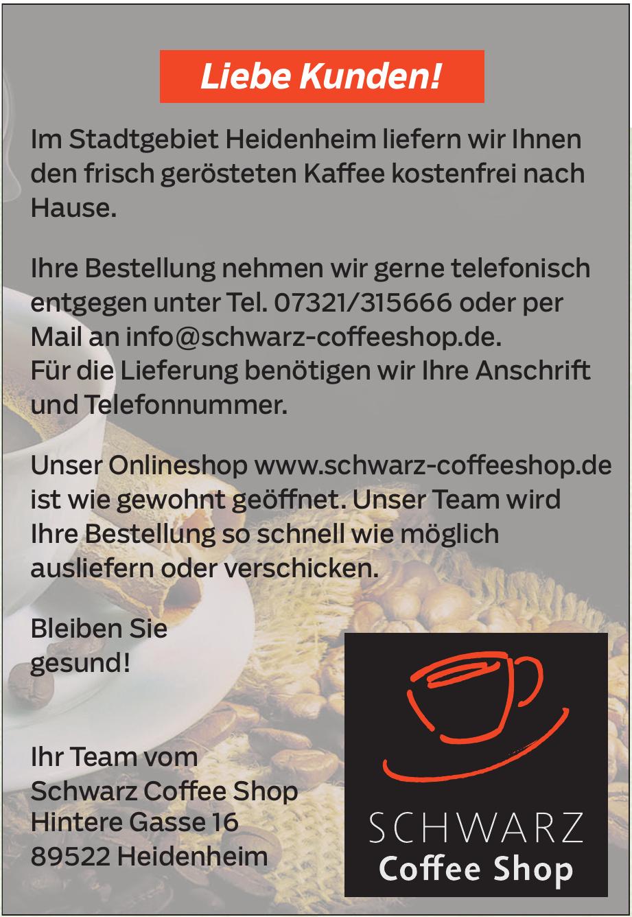 Schwarz Coffee Shop