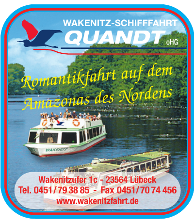 Wakenitz-Schifffahrt Quandt oHG