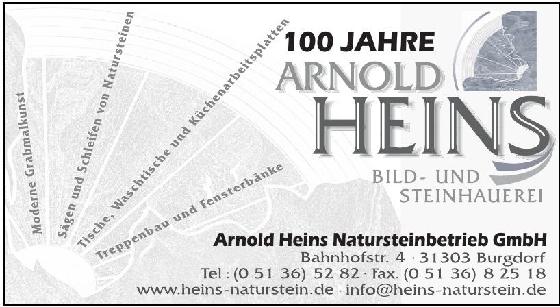 Natursteinbetrieb GmbH Arnold Heins