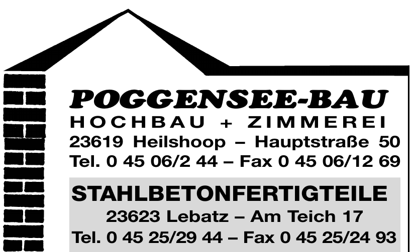 Poggensee-Bau