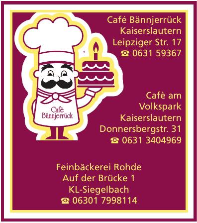 Café Bännjerrück Kaiserslautern
