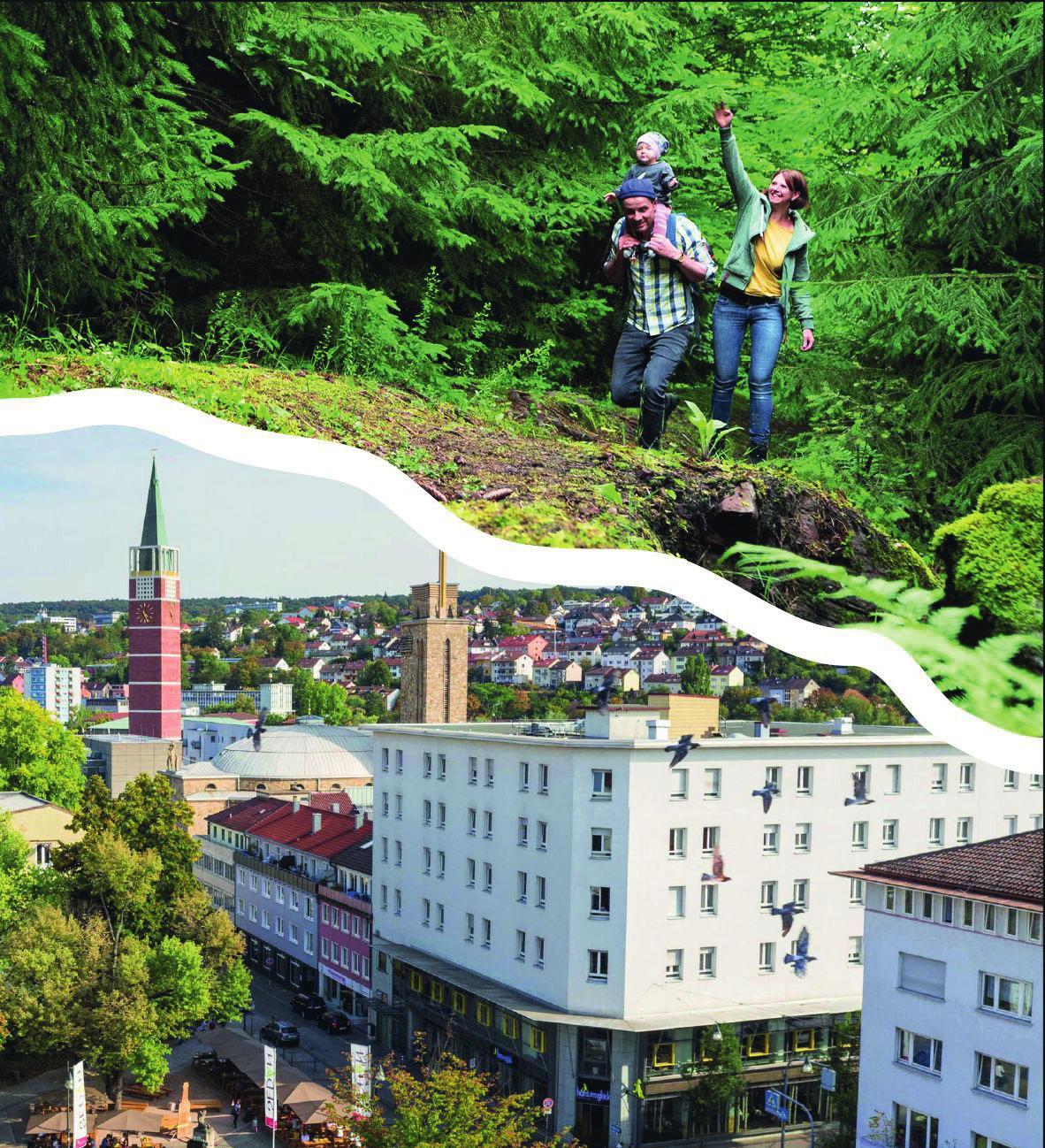Rein in die Stadt oder raus in die Natur – in Pforzheim und dem Enzkreis ist dank kurzer Wege beides problemlos möglich.