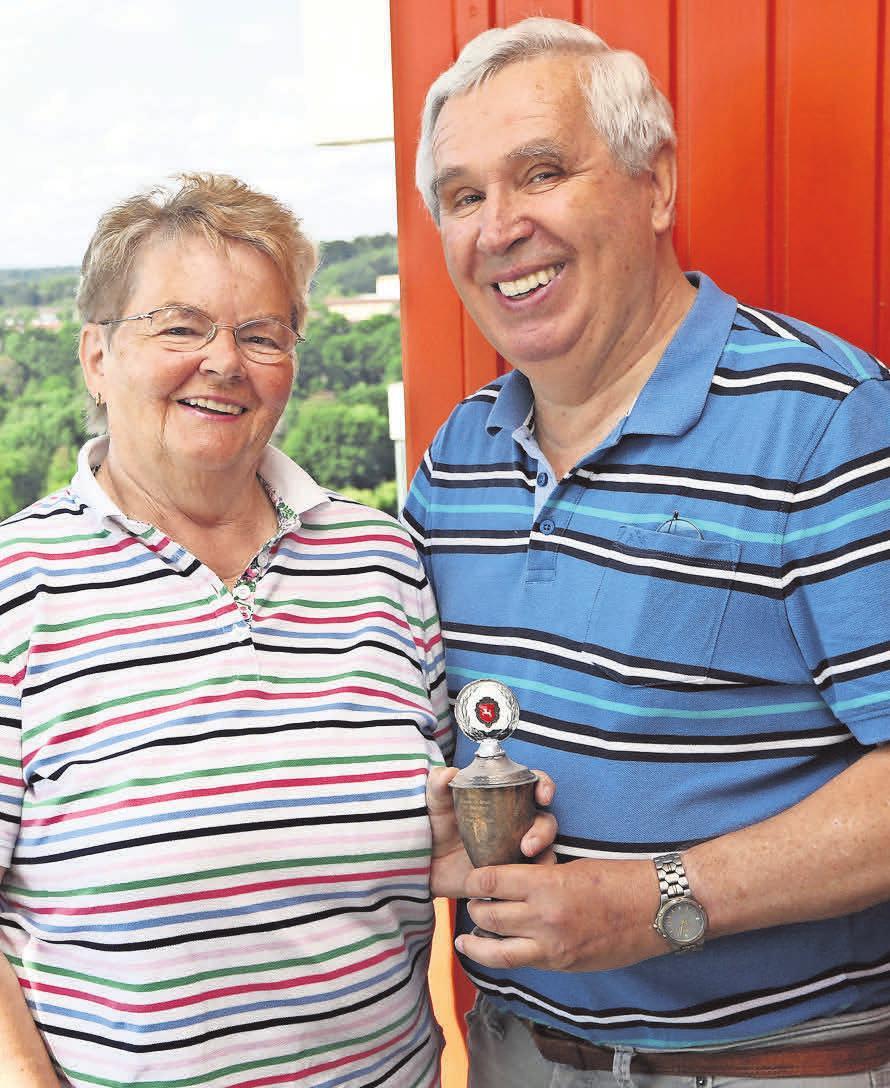 Ehe- und Mixed-Partner: Ursula und Willi Braun haben sich beim Badminton kennengelernt.