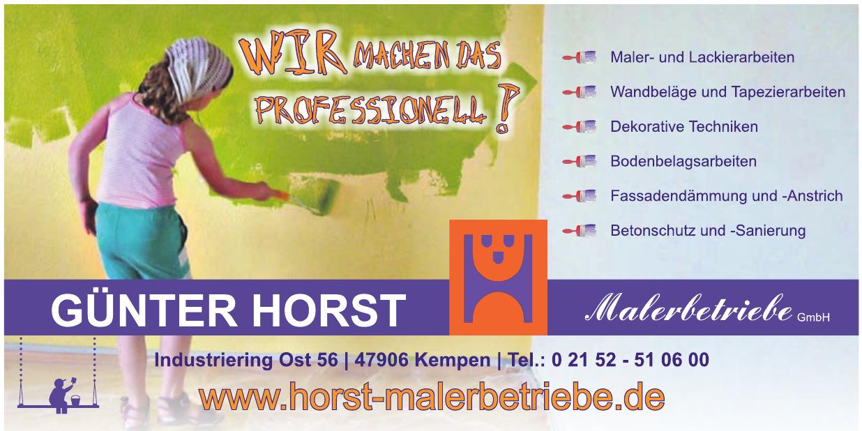 Günter Horst Malerbetribe GmbH
