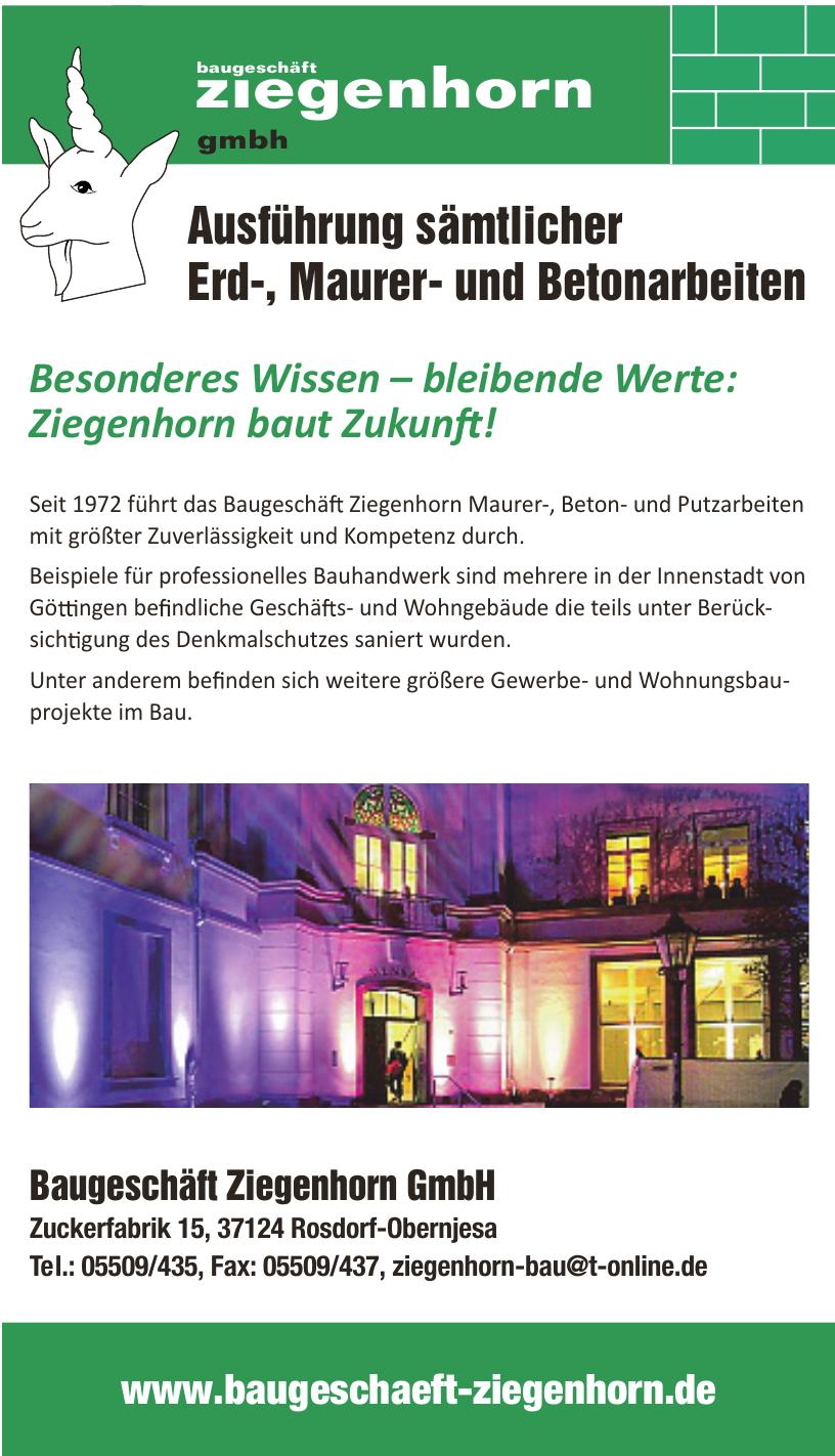 Baugeschäft Ziegenhorn GmbH