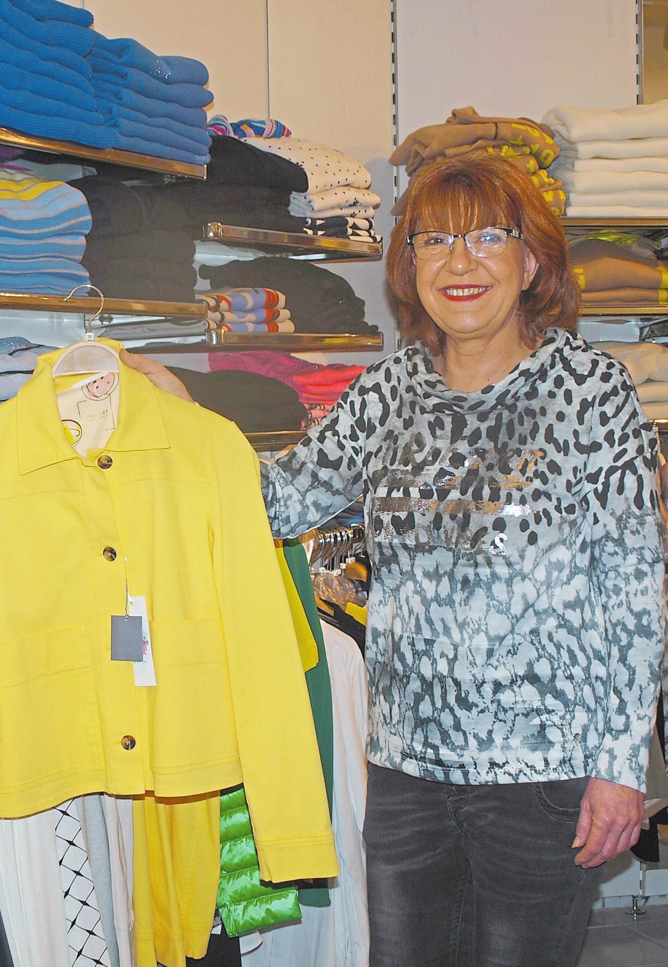 Trendfarbe gelb: Britta Gudrian weiß, was 2020 gut ankommt.