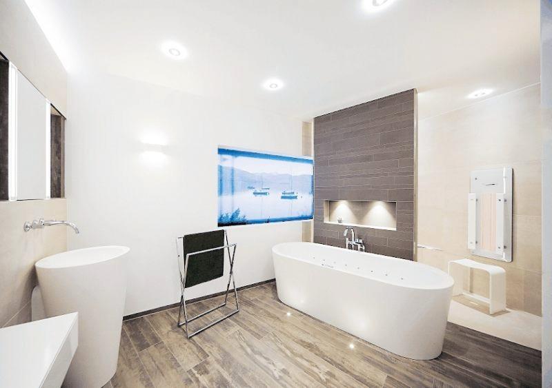 Ein neues Bad ist ein echtes Stück Lebensqualität. Seine Ausstattung sollte daher gut geplant werden. FOTO: DJD/WWW.DIE-BADGESTALTER.DE
