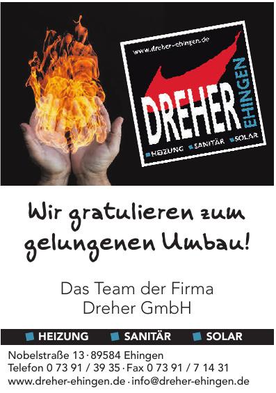 Dreher GmbH Heizung - Sanitär - Solar