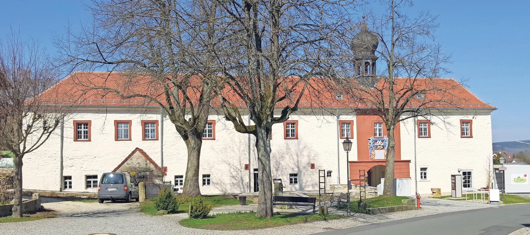 4,3 Millionen Euro wurden in die Sanierung des Emtmannsberger Schlosses investiert. Fotos: Gerald Schreiner