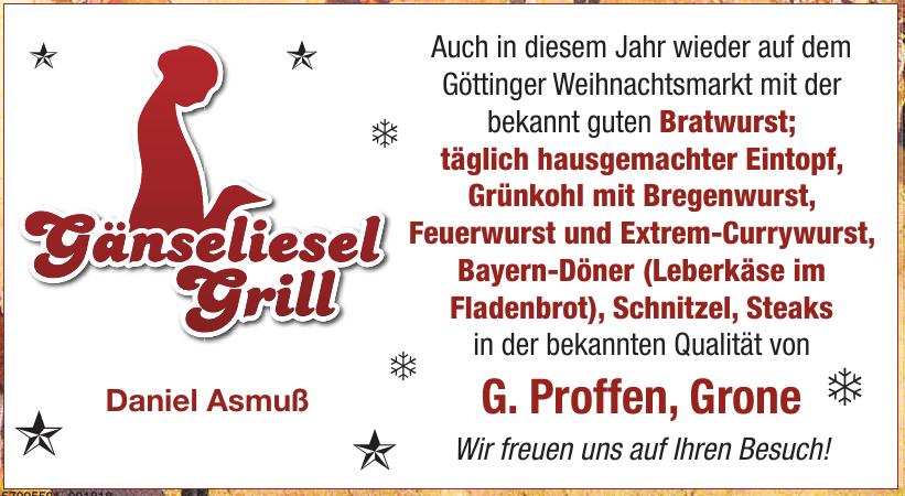 Gänseliesel Grill Daniel Asmuß
