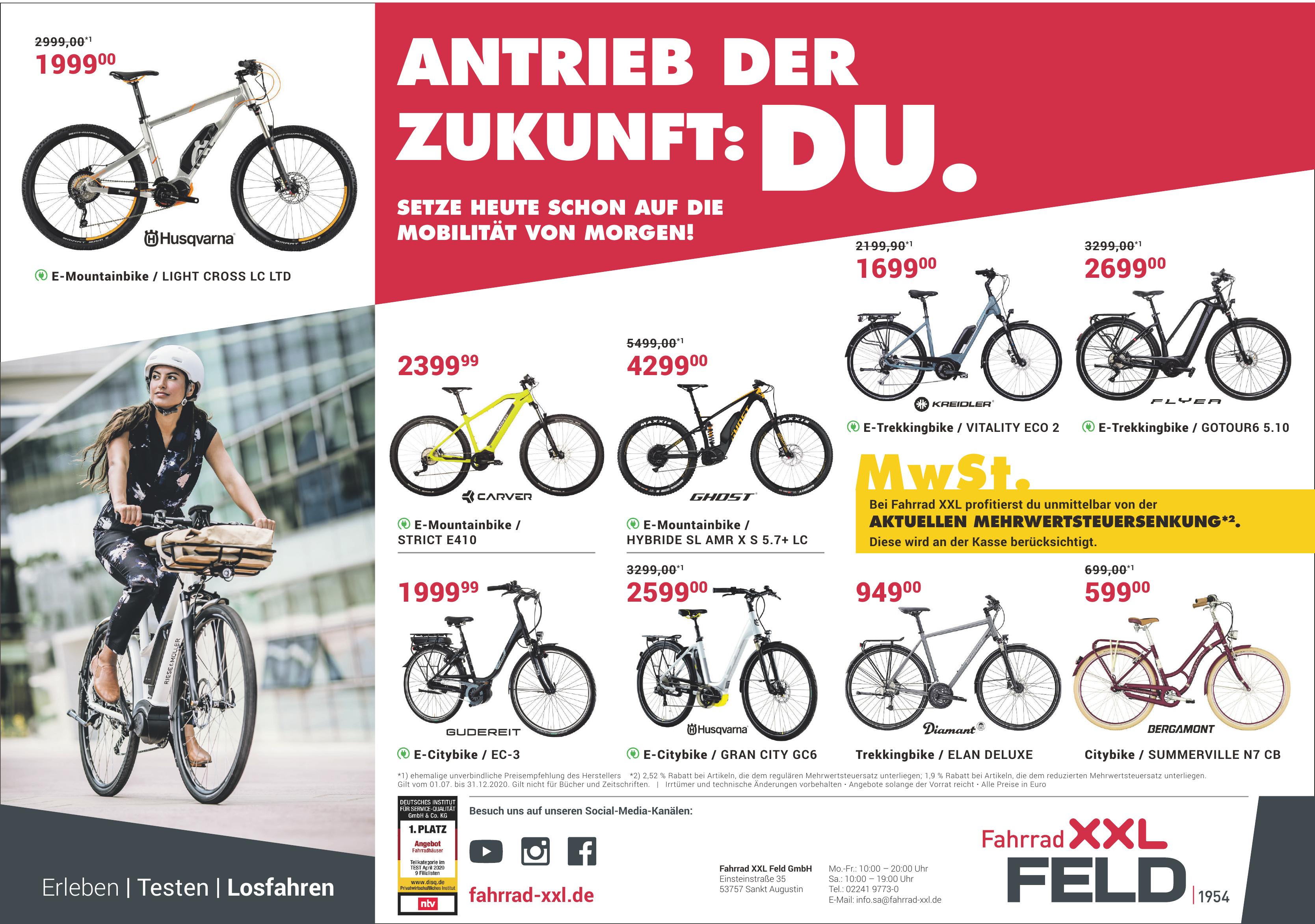 Fahrrad XXL Feld GmbH