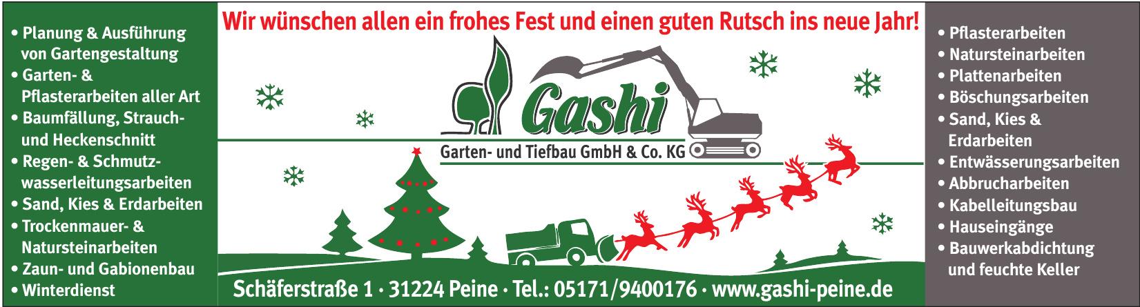 Gashi Garten- und Tiefbau GmbH & Co. KG