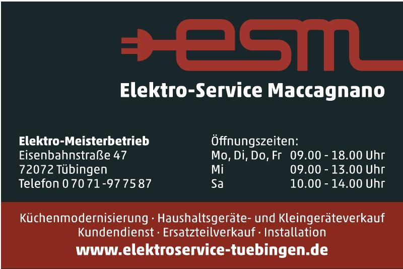esm • Elektro - Service Maccagnano