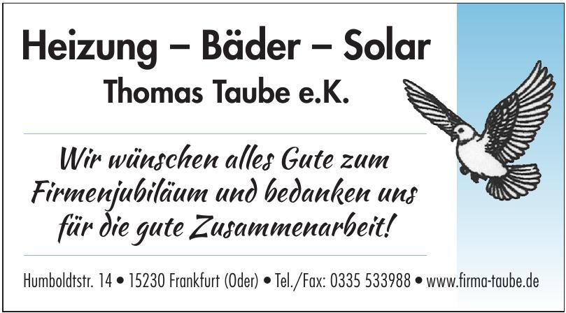 Thomas Taube e.K.