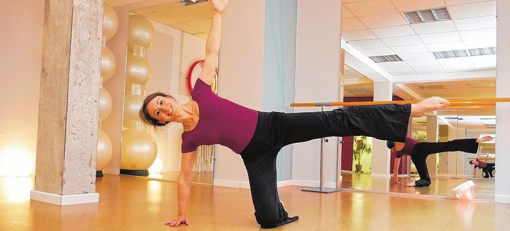 Marie Louise John bietet in ihrem Studio auch Präventionskurse. Foto: HFR