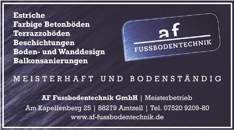 AF Fussbodentechnik GmbH