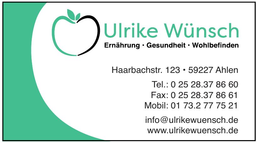 Ulrike Wünsch