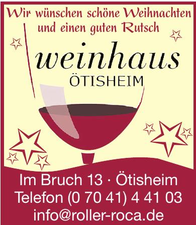 Weinhaus Ötisheim