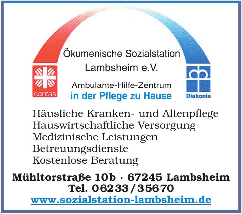 Ökumenische Sozialstation Lambsheim e.V.