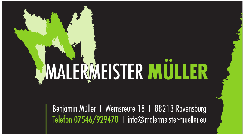 Malermeister Müller