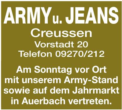 Army u. Jeans